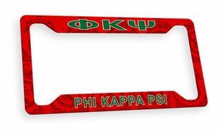 Phi Kappa Psi Custom License Plate Frame