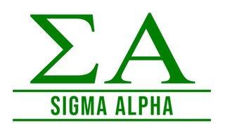 Sigma Alpha Custom Sticker - Personalized