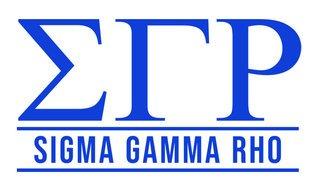 Sigma Gamma Rho Custom Sticker - Personalized