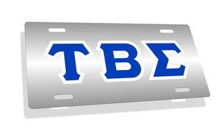 Tau Beta Sigma Lettered License Cover