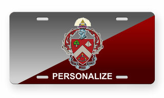 Triangle Fraternity License Cover