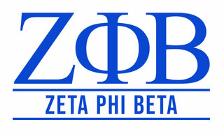 Zeta Phi Beta Custom Sticker - Personalized