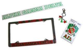 Alpha Gamma Delta Auto Gift Set