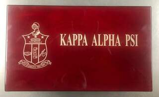 Super Savings - Kappa Alpha Psi Box - RED WOOD