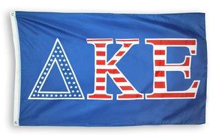 Delta Kappa Epsilon 3 X 5 USA Flag