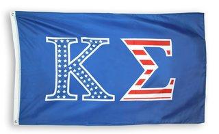 Kappa Sigma Kappa Sigma USA Patriotic Flag