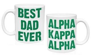 Alpha Kappa Alpha Best Dad Ever Coffee Mug