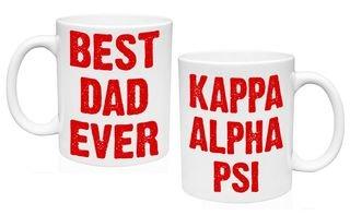 Kappa Alpha Psi Best Dad Ever Coffee Mug