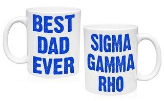 Sigma Gamma Rho Best Dad Ever Coffee Mug