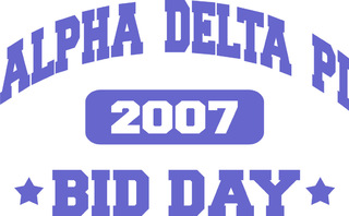 Bid Day Design B010