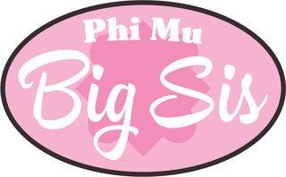 Big Sister Bumper Sticker