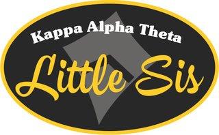 Little Sister Bumper Sticker