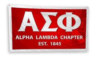 Alpha Sigma Phi 3 x 5 Flag