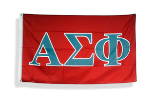 Alpha Sigma Phi Big Greek Letter Flag