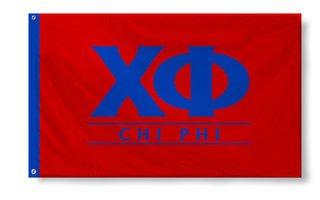 Chi Phi Custom Line Flag