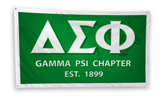 Delta Sigma Phi 3 x 5 Flag