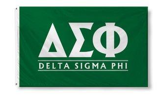 Delta Sigma Phi Custom Line Flag