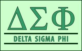 Delta Sigma Phi Custom Line Sticker Decal
