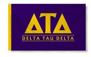 Delta Tau Delta Custom Line Flag