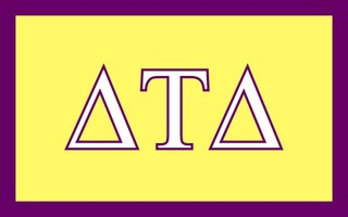 Delta Tau Delta Flag Decal Sticker
