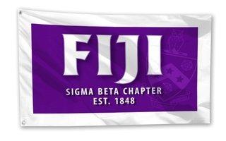 FIJI Fraternity 3 x 5 Flag