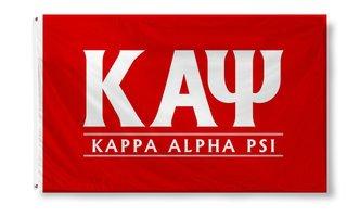 Kappa Alpha Psi Custom Line Flag