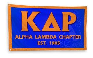 Kappa Delta Rho 3 x 5 Flag