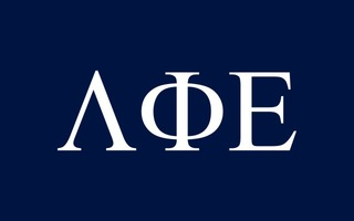 Lambda Phi Epsilon Flag Decal Sticker