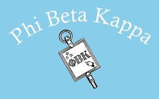 Phi Beta Kappa Flag Decal Sticker