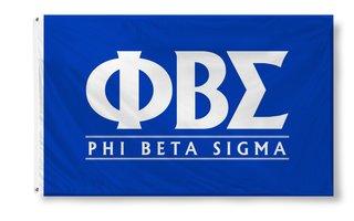 Phi Beta Sigma Custom Line Flag