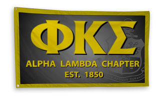 Phi Kappa Sigma 3 x 5 Flag