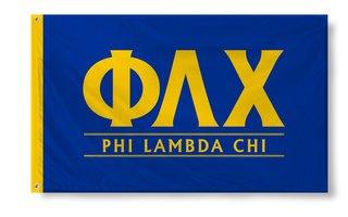 Phi Lambda Chi Custom Line Flag