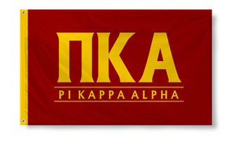 Pi Kappa Alpha Custom Line Flag