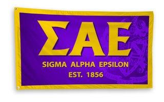 Sigma Alpha Epsilon 3 x 5 Banner