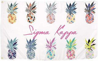 Sigma Kappa Pineapple Flag
