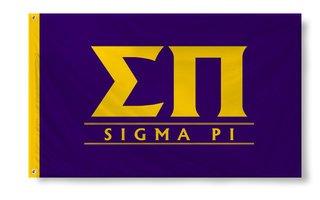 Sigma Pi Custom Line Banner