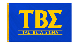 Tau Beta Sigma Custom Line Flag