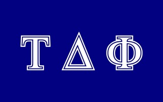 Tau Delta Phi Flag Decal Sticker