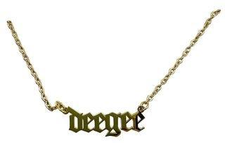 Delta Gamma Old English Necklaces