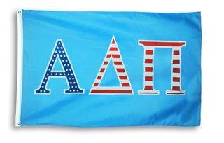 Alpha Delta Pi 3 X 5 USA Flag