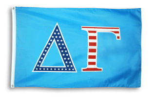 Delta Gamma 3 X 5 USA Flag