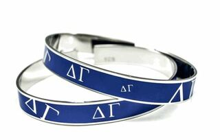 Delta Gamma Blue Bangle