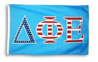 Delta Phi Epsilon 3 X 5 USA Flag