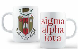 Sigma Alpha Iota Crest - Shield Coffee Mug