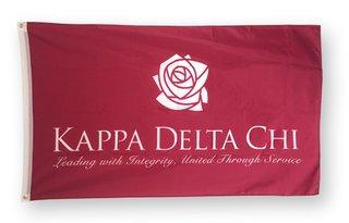 Kappa Delta Chi Giant Flag