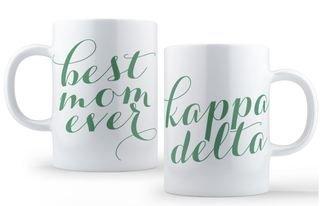 Kappa Delta Best Mom Ever Coffee Mug
