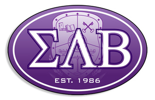 Sigma Lambda Beta Color Oval Decal