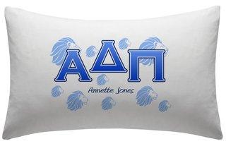 Alpha Delta Pi Sorority Pillowcases