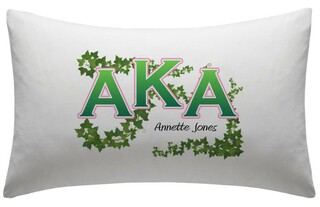 Alpha Kappa Alpha pillowcases