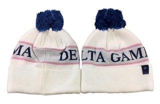 Delta Gamma Pom Beanie